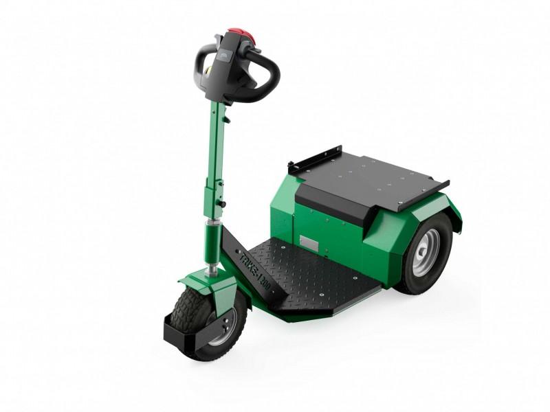 Elektrotrekker Trike 1200 groen