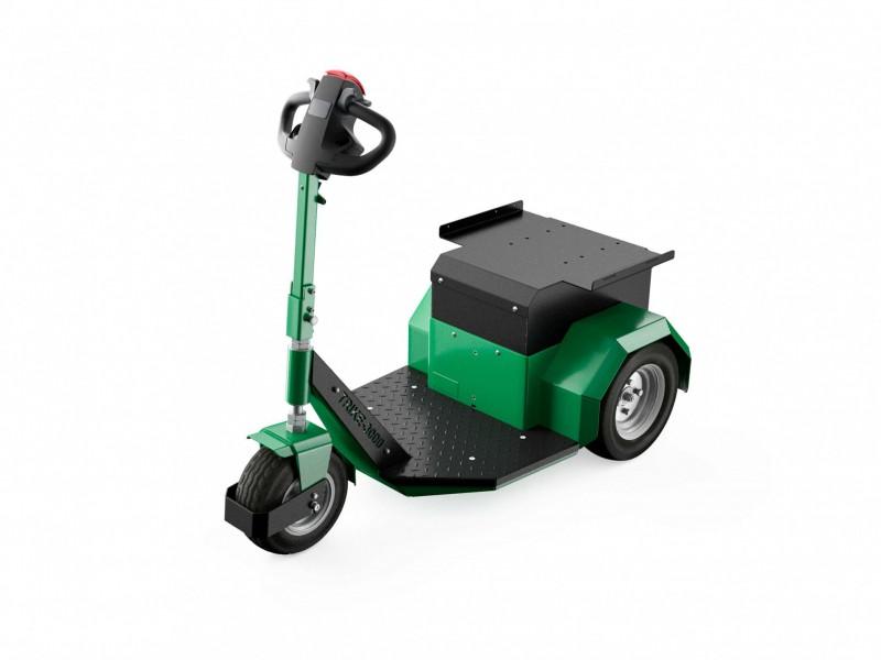 Elektrotrekker Trike 3000 groen