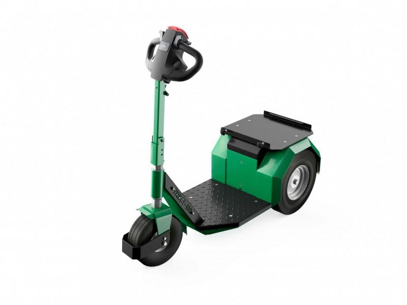 Elektrotrekker Trike 400 groen